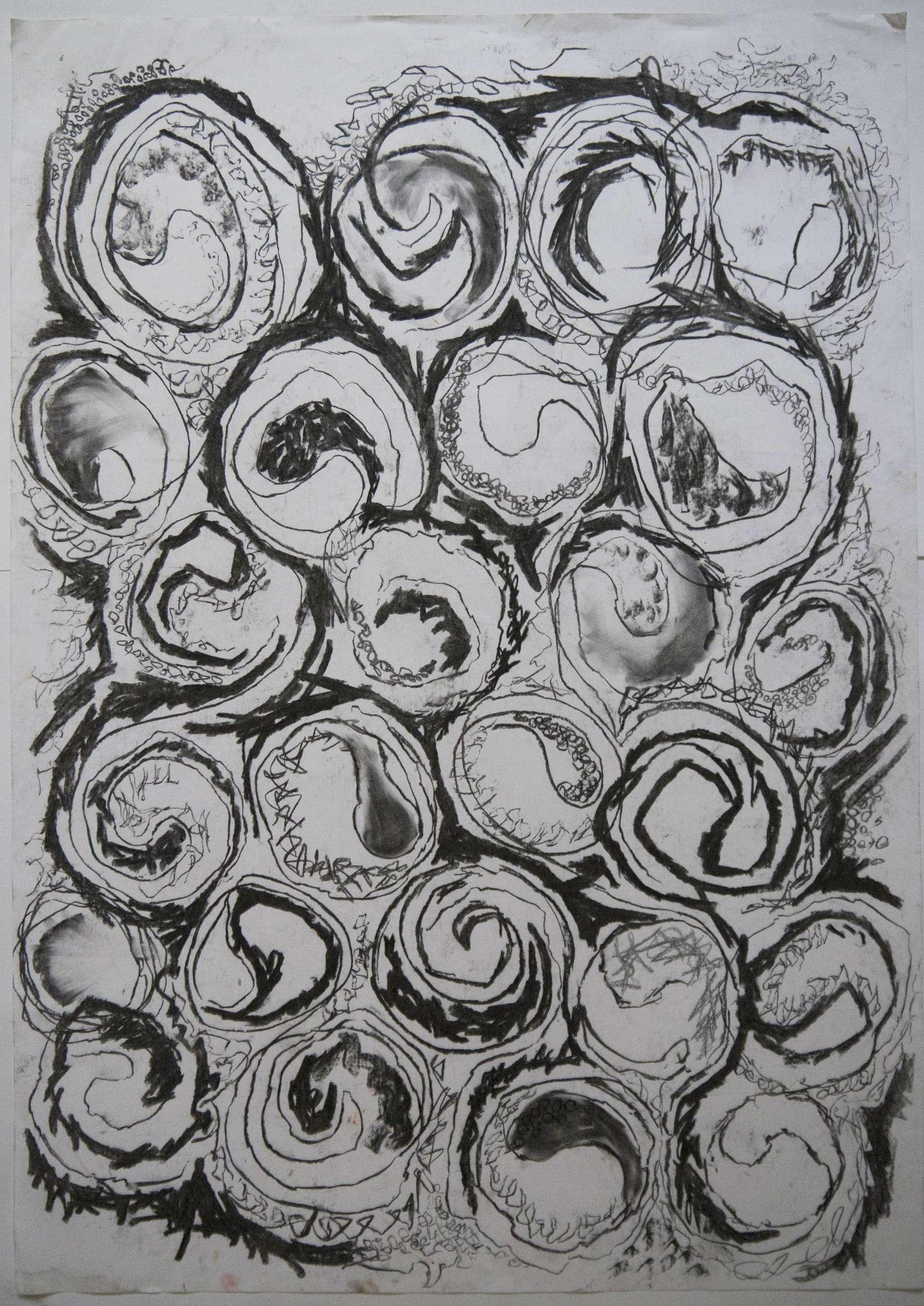 Code 125 Charcoal_circles Image