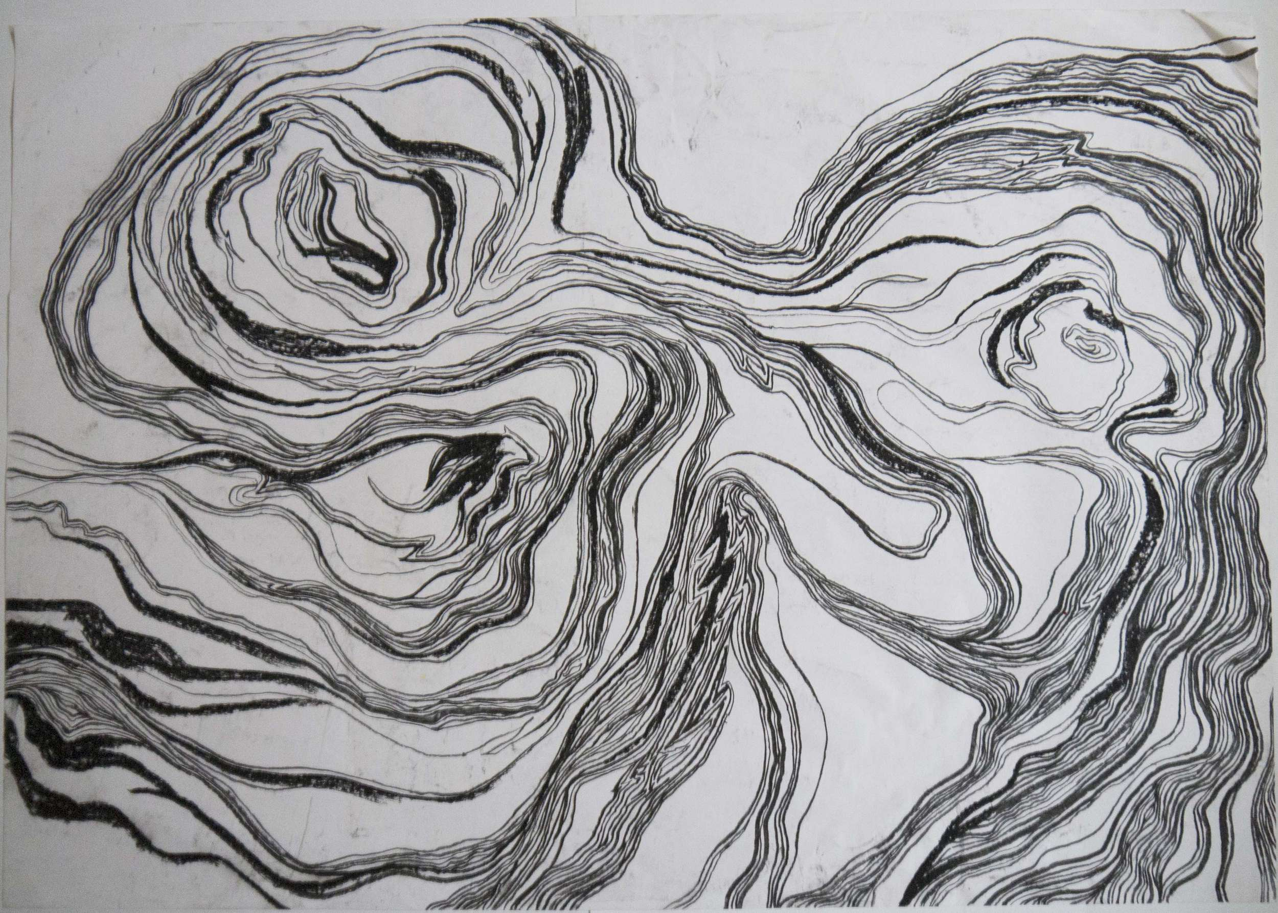 Code 126 Charcoal_lines&whiteSpaces Image